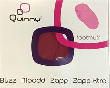 Quinny Buzz / Buzz / Xtra Zapp / Xtra Footmuff ( Red Rumour )  sale sale New Box