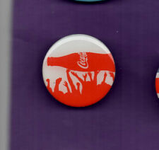 Coca Cola -Bottle in the Crowd  2012 - Acrylic Metal Badge 2012