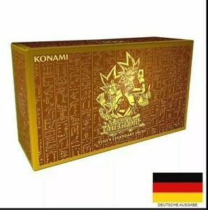 Yu-Gi-Oh! Yugis Legendary Deck Box - Reprint - NEU