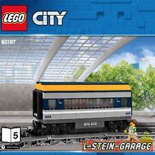 LEGO® City Eisenbahn aus Set 60197 Personenwaggon mit Figur NEU