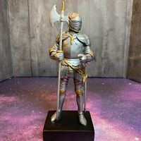Knight Figure Battle Axe And Sword  Summit Collection  Arcadia CA