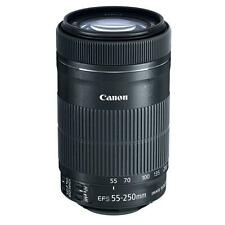 Canon Tele-Zoomobjektiv EF-S 55-250mm 1:4-5,6 IS STM 58mm Filtergewinde schwarz