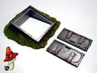 Underground Access Door 28mm scale Wargames Warhammer 40k Scenery Terrain