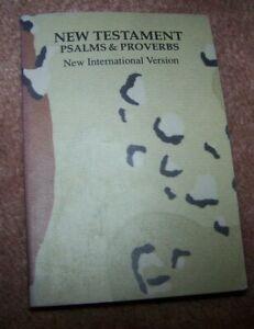 POCKET BIBLE, DESERT SHIELD / STORM, U.S. ISSUE *NICE* #3