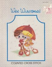 Wee Winsomes Book WW-2 for Counted Cross Stitch 1984 Caro Creations Vintage