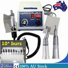 AU! Dental Lab MARATHON 35k RPM Handpiece Micro motor N3 + 10* Drills Burs NEU
