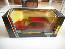 Schabak Mercedes 600 SEL in Red on 1:43 in Box