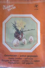 Ostereikerzen - selbst gegeossen