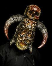 Powaqa bone mask/headress human skull