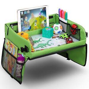 Kids Children's Folding Snack & Play Travel Lap Activity Tray / Car Plane Tablet