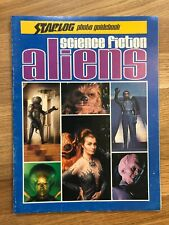 Science Fiction Aliens Starlog Photo Guidebook 1977 Star Wars Trek Godzilla