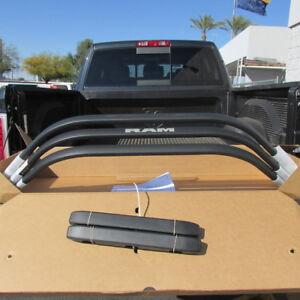 DODGE RAM 1500 2500 3500 Black Painted Aluminum Bed Extender NEW OEM MOPAR