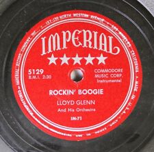 Hear! R&B 78 Lloyd Glenn - Rockin' Boogie / Soldier'S Hop On Imperial