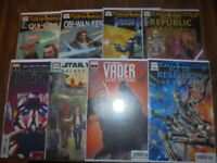 STAR WARS COMIC BOOKS~Marvel Comics~You Pick Em #1's~Jango Fett,Darth Vader,Solo