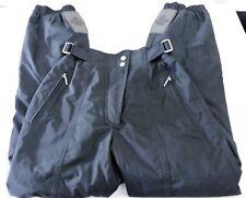 Descente Insulated Ski Pants, Women's Size 6, Black