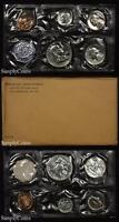 1959 Proof Set With COA ~ Flat Pack Original Envelope ~ US Silver Mint Coin Set