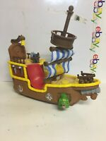 Disney Jake And The Neverland Pirates Talking Ship With Figures No Sound