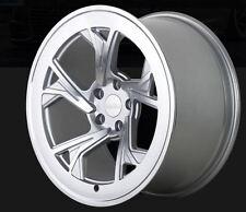 19X8.5 Radi8 C5 5x112 +45 Silver Rims Fits audi a3 tt(MKII) gti (MKV,MKVI)