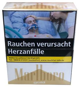 Marlboro Gold Zigaretten Verschiedene Größen