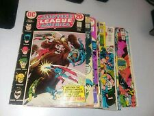 Justice League Of America 20 Issue Bronze Age Comics Lot Run Set jsa darkseid dc
