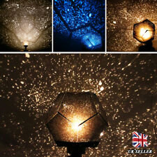 3 Colors Romantic Astro Star Sky Laser Projector Cosmos Night Lamp Xmas Gift UK