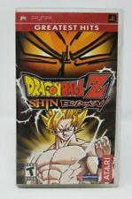 Dragon Ball Z Shin Budokai Sony PSP Game