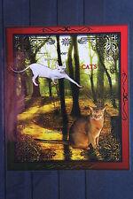 Katzen 52 cats Chats Tiere animals pets Fauna Block KB sheets postfrisch ** MNH