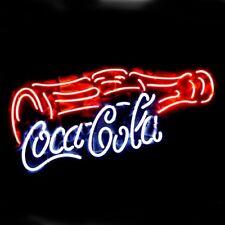 "New Coca Cola Bottle Coke Bar Neon Light Sign 17""x8"""