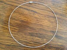 Pink wire necklace for jewelry making, jewelry supplies