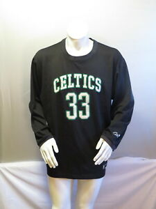 Boston Celtics Sweater (Retro) - Larry Bird Harwood Classic by Reebok - Mens XL