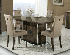Athen Italian Dining Room Table with 4 Chairs