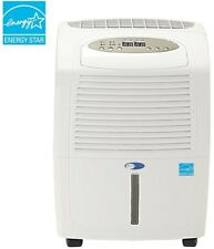 Portable Dehumidifier 30-Pint Auto-Restart, Energy Star with Washable Pre-Filter