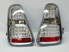 Mini Cooper 2005-2006 LED Crystal Tail Lights - Clear Pair RH LH