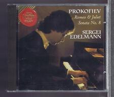 PROKOFIEV CD NEW ROMEO & JULIET / SONATA 8 / SERGEI EDELMANN