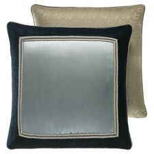Croscill Home Chamade Reversible One Euro Sham 26 X 26 Chambray New