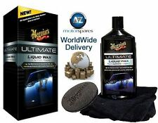 MEGUIARS ULTIMATE LIQUID WAX COMPLETE WITH MICROFIBER TOWEL AND FOAM APPLY PADS