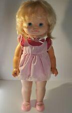 Vtg 1983 Chatty Patty Talking Doll Mattel original clothes Pull String Works