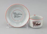 99840660 Porzellan Andenken-Tasse Hutschenreuther Hohenberg Weihnachten 1944