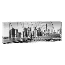 Brooklyn Bilder Poster Leinwand Panorama Wandbild Modern XXL 150 cm*50 cm 648 sw