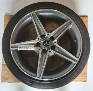 MERCEDES C CLASS W205 ALLOY WHEEL & TYRE AMG FRONT (WH412)