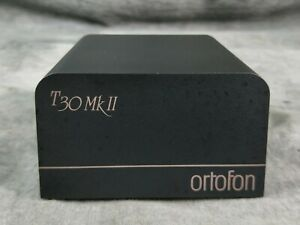 Ortofon T-30 Mk ii Step-up Mc Transformer In VG Condition
