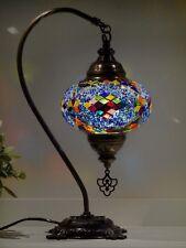 Turkish Moroccan Mosaic Lights 100% Genuine Handmade Bedside Table Lamps