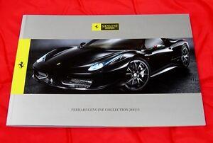 "Ferrari ""Genuine"" Vehicle Enhancement Brochure - 2012 - Italian/UK English Text"