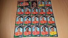 Panini Football Uefa Portugal Euro 2004 Netherlands Team Stickers x20 Complete