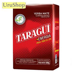 Yerba Mate Taragui Energia Taragui Energy 500g Tea High Caffeine Content