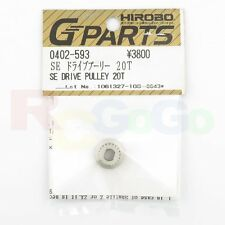 Hirobo 0402-593 Shuttle SE Drive Pulley 20t #0402593 Helicopter Parts