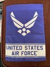 New listing Super Cool Usaf United States Air Force Garden Flag Yard Banner Euc Must See !