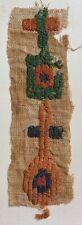 Ancient Egyptian Coptic Loop Pile Textile Fragment Ca 5/6 th Century