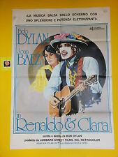 M126  RENALDO & CLARA - BOB DYLAN -  JOAN BAEZ,  MANIFESTO 2F  1978
