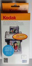 Kodak Easyshare Printer PH-40 Color Ink Cartridge and Paper